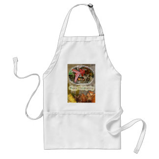 Acorn and Oak Leaf Thanksgiving Apron