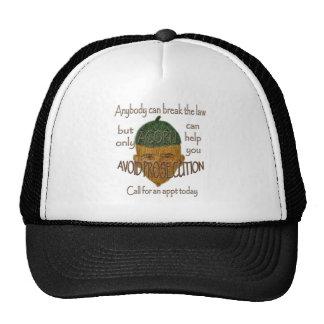 Acorn - Anybody can break the law... Trucker Hat