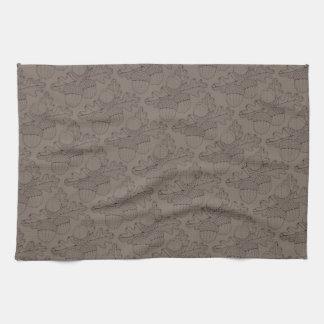Acorn Branch Line Art Design Kitchen Towel