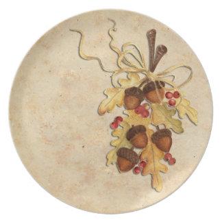 Acorn Dinner Plate
