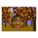 ACORN FAERY COTTAGE Card