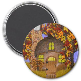 Acorn Faery Cottage Magnet Magnet