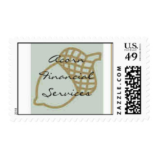 Acorn Financial Services Postage Stamp