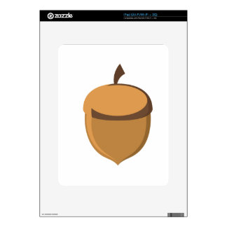 Acorn iPad Decal