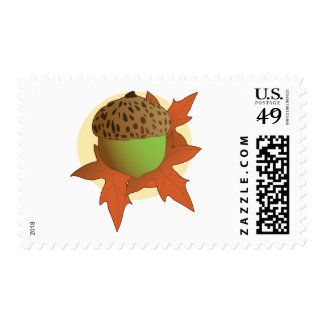 acorn postage stamps