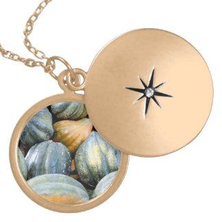 Acorn Squash Personalized Necklace
