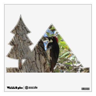 Acorn Woodpecker Wall Sticker