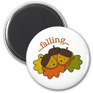 acorns falling (asleep) magnet