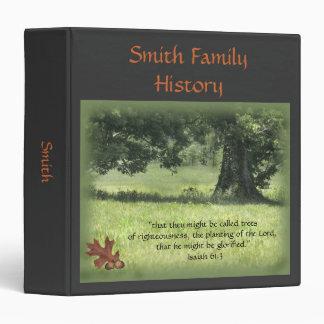 Acorns to Oak Trees Genealogy Binder