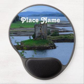Acosador del castillo en Escocia Alfombrillas De Raton Con Gel