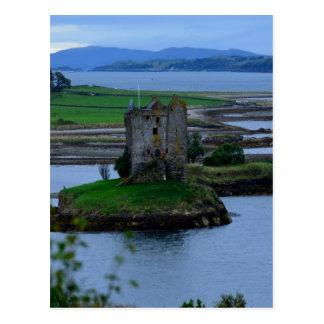 Acosador del castillo en Escocia Postales