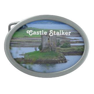 Acosador del castillo hebillas de cinturon