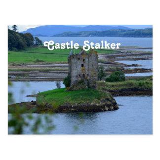 Acosador del castillo postales