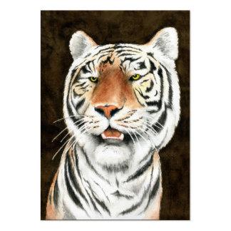 Acosador silencioso - tarjeta de visita del tigre