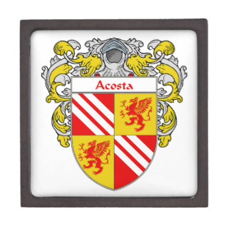 Acosta Coat of Arms/Family Crest: Gift Box