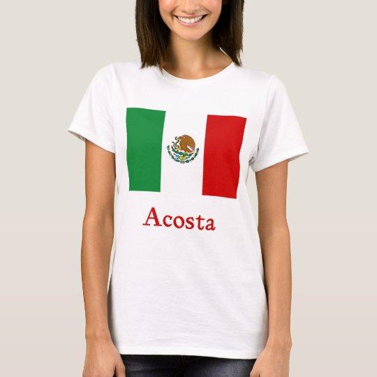 Acosta Mexican Flag T-Shirt