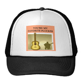 acoustc guitar gifts hats