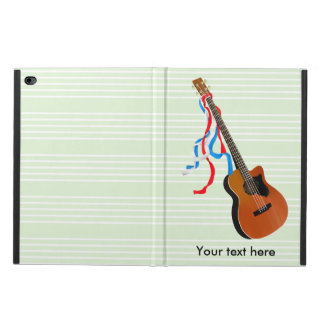 Acoustic Bass Guitar American Music Powis iPad Air 2 Case