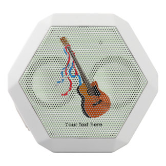 Acoustic Bass Guitar American Music White Bluetooth Speaker