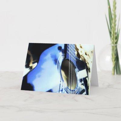 acoustic blues card