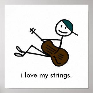Acoustic Boy Print