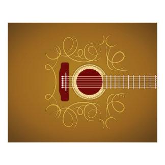 Acoustic Classic Guitar Photo Print