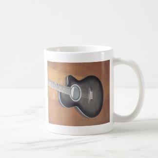 Acoustic Electric Guitar Coffee Mug