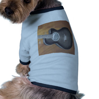 Acoustic Electric Guitar Dog Tee