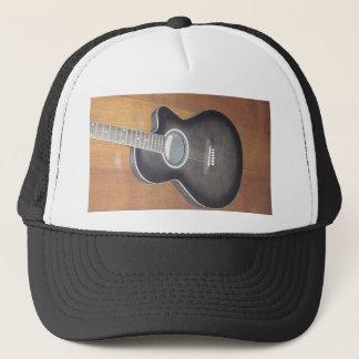 Acoustic Electric Guitar Trucker Hat