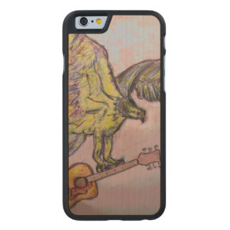 Acoustic Fish Hawk Carved® Maple iPhone 6 Slim Case