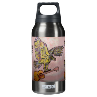Acoustic Fish Hawk Insulated Water Bottle
