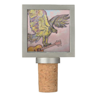 Acoustic Fish Hawk Wine Stopper