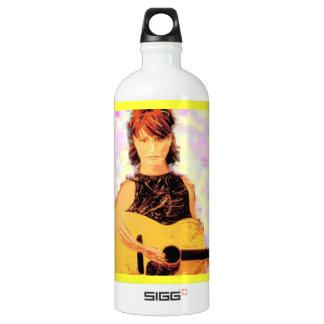 acoustic girl art SIGG traveler 1.0L water bottle