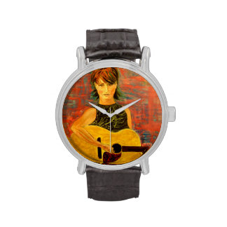 acoustic girl art watches