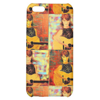 acoustic girl collage cover for iPhone 5C