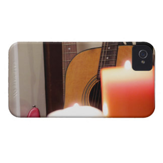 Acoustic Guitar 1 iPhone 4 Case-Mate Cases