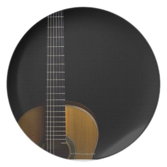 Acoustic Guitar 2 Dinner Plate