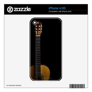 Acoustic Guitar 2 iPhone 4 Decal