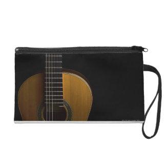 Acoustic Guitar 2 Wristlet Purse