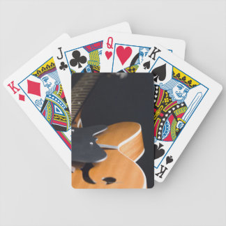 Acoustic Guitar 3 Bicycle Playing Cards