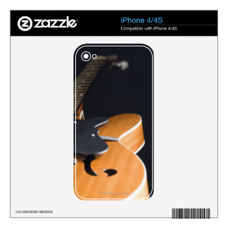 Acoustic Guitar 3 Decal For The iPhone 4
