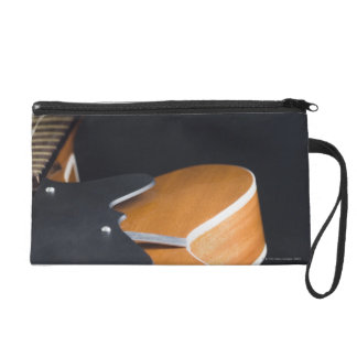 Acoustic Guitar 3 Wristlet Purse