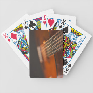 Acoustic Guitar 4 Bicycle Playing Cards