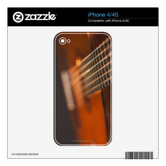 Acoustic Guitar 4 Decals For The iPhone 4S