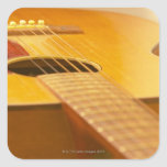 Acoustic Guitar 5 Square Sticker