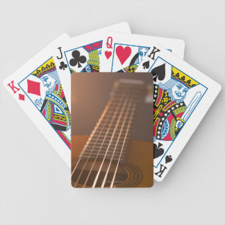 Acoustic Guitar 7 Bicycle Playing Cards