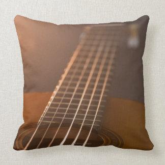 Acoustic Guitar 7 Throw Pillow