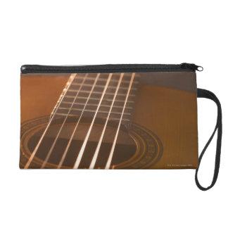 Acoustic Guitar 7 Wristlet Purse