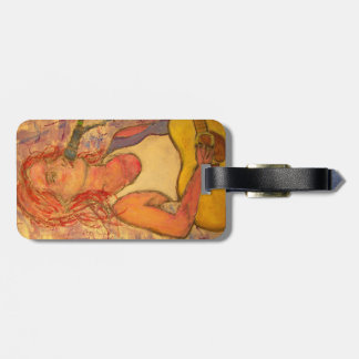 Acoustic Guitar and Songstress Luggage Tag