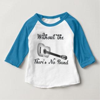 Acoustic Guitar Baby American Apparel ¾ Sleeve Rag Baby T-Shirt